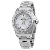 Breitling Colt Lady Quartz Mother of Pearl Diamond Stainless...