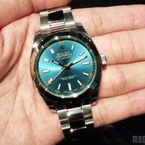 Rolex 116400GV Blue (888) Milgauss 40mm