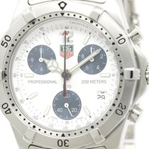 TAG Heuer 2000 Classic Professional Chronograph Watch Ck1111...
