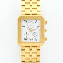 Piaget Yellow Gold Protocole Chronograph Bracelet Watch