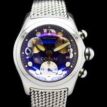 Corum Bubble Chronograph  Blue Boutique 396.150.20