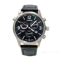 Junkers World Flight Records G38 6296 Chronograph Alarm