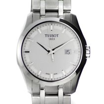Tissot watch Couturier Quartz white dial