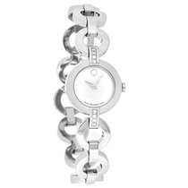 Movado Bela Moda Diamond Ladies MOP Swiss Quartz Watch 0606352