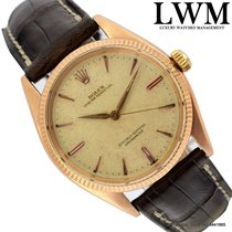 Rolex Oyster perpetual 6565 / 6567 rose gold 1958's