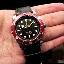 Tudor 79220R Leather Strap Heritage Black Bay 41mm