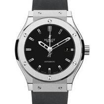 Hublot Classic Fusion 511.NX.1170.RX Black Index Titanium...