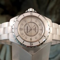 Chanel J12 Automatic 38mm MOP Diamond Dial