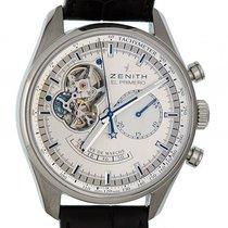 Zenith El Primero Power Reserve Chronograph Stahl Automatik 42mm
