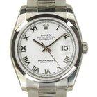 Rolex Datejust Ref. 116200 MAI INDOSSATO 10/2013 art. Rz267