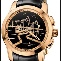 Ulysse Nardin 6106-131-/E2-OIL  Hourstriker Rose Gold