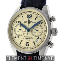 Bell & Ross Vintage 126 Chronograph 18k White Gold...