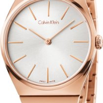 ck Calvin Klein Supreme K6C2X646 Damenarmbanduhr flach &...