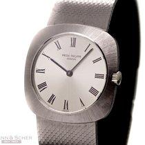Patek Philippe Vintage Gentleman Watch Milanese Ref-3543 2 18k...