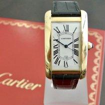 Cartier Tank Americane Jellow Gold Men