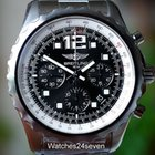Breitling Chronospace Auto Black Dial Stainless Steel 46mm