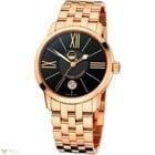 Ulysse Nardin Classico Luna Rose Gold 18K Bracelet black Men`s...