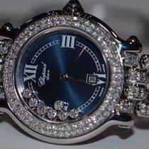 Chopard Happy Sport Rare Dark Blue Dial Diamonds