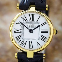 Cartier Ladies Quartz Watch 925 Silver Swiss Made Watch C2000...