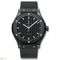 Hublot Classic Fusion Automatic Ceramic Rubber Men's Watch