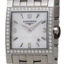 Longines Dolce Vita Stainless Steel & Diamond Womens...