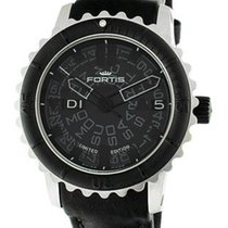 Fortis Mens B-47 Limited Edition Big Black Automatic - Brushed...