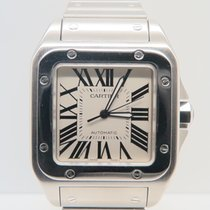 Cartier Santos 100 XL Steel Bracelet Full Steel (Box&Papers)