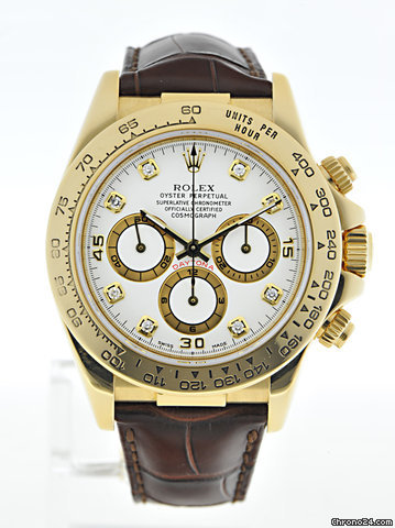 Rolex Cosmograph Daytona 16518 S-Serie Zenith