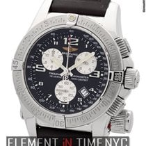 Breitling Emergency Mission Chronograph Stainless Steel 45mm...
