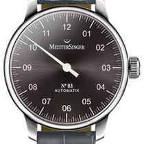 Meistersinger 03 - AM 907 - 43mm - Anthracite Dial