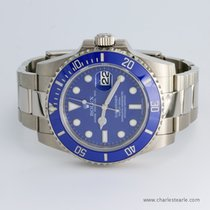 Rolex White Gold Submariner