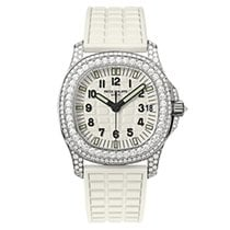 Patek Philippe 5069G-011 White Gold Ladies Aquanaut 35.2mm [NEW]