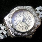 Breitling Cockpit Lady Stahl Diamonds