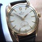 Zenith Pink gold plated Vintage Zenith Sporto Chronometer 40-T...
