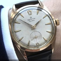 Zenith Pink gold plated Vintage Zenith Sporto Chronometer 40-T...