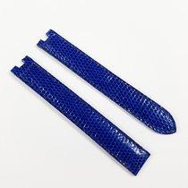 Cartier Lizard Leather strap blue 12 / 12mm NEW