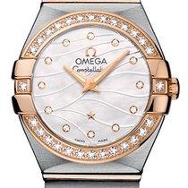 Omega Constellation Brushed 24mm 123.25.24.60.55.012