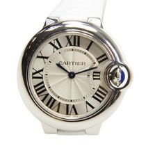 Cartier Ballon Bleu Stainless Steel Silvery White Quartz W6920086
