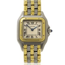 Cartier Panthere 18ct Yellow Gold and Stainless Steel Quartz