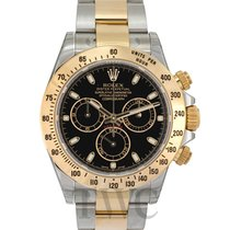 Rolex Daytona Black/18k gold Ø40mm - 116523