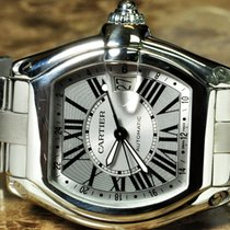 Cartier Roadster GMT XL with box and papers