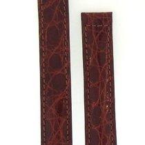Baume & Mercier Brown Alligator Leather Watch Strap 15mm