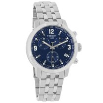 Tissot PRC 200 Mens Blue Dial Swiss Quartz Chronograph Watch...