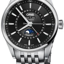 Oris Artix Complication Moonphase Automatic Steel Mens Watch...