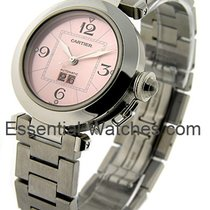 Cartier W31058M7 Pasha C 35mm in Steel - on Stainless Steel...