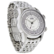 Oris Artelier Mens Automatic Mechanical Alarm Watch 90876074091MB
