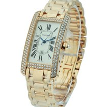 Cartier WB710003 Tank Americaine Rose Gold - 18KT Rose Gold on...