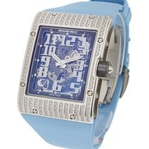 Richard Mille RM016WGFull_blue RM016 Automatic in White Gold...