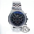 Breitling for Bentley Barnato 42mm Steel Chronograph Unworn...