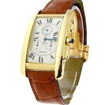 Cartier Tank Americaine Chronograph with Chronoflex mvmt